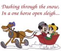 keywords: dashing through the snow in a one horse open sleight micke minnie mouse