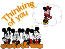 keywords: thinking of you mickey minnie mouse